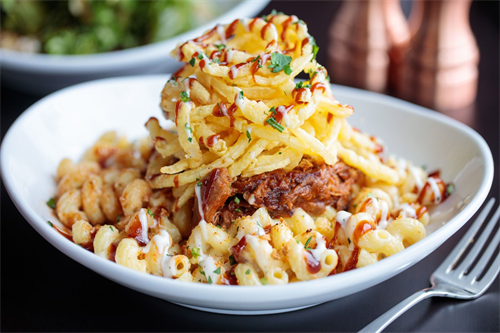 Award Winning BBQ Pulled Pork Mac & Cheese