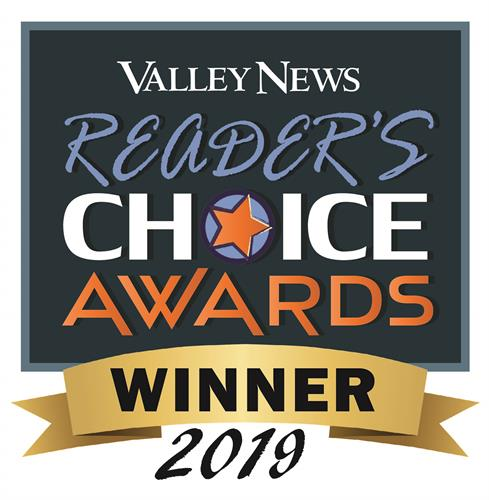 Valley News Reader's Choice Award Winner for five consecutive years and counting!