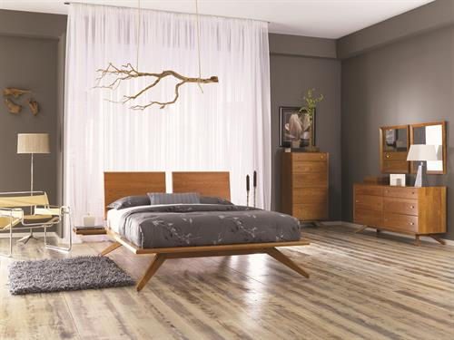 Astrid Bedroom in solid Cherry