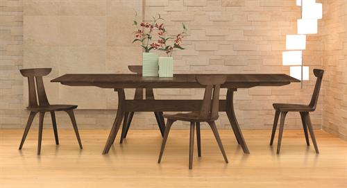 Audrey Dining in solid Walnut