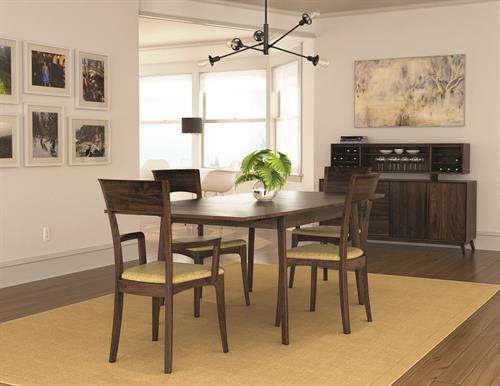 Catalina Dining in solid Walnut