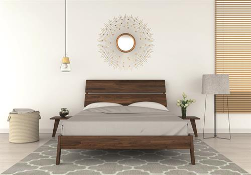 Linn Bedroom in solid Walnut