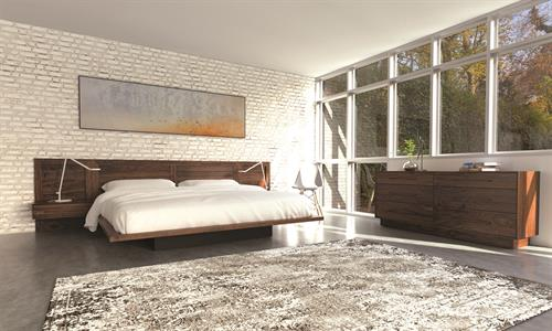 Moduluxe Bedroom in solid Walnut