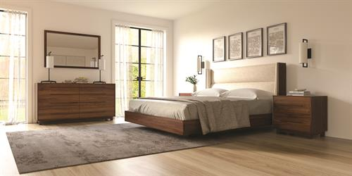 Sloane Bedroom in solid Walnut or Ash