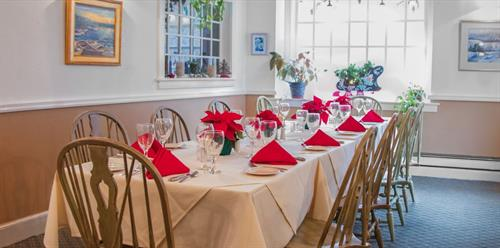 With private rooms and personalized event planning, we're ready to host your next function