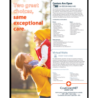 Clear Choice Urgent Care Offering Telehealth and In Person Care