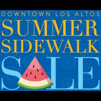 Downtown Los Altos Summer Sidewalk Sale