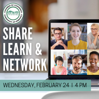 Share, Network & Learn