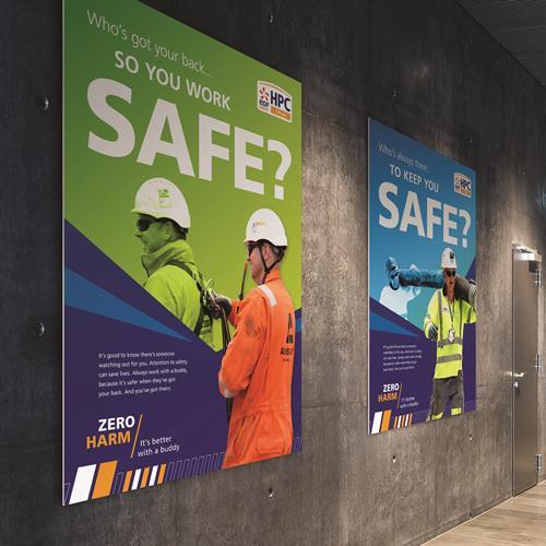 EDF Hinkley Point C - site graphics