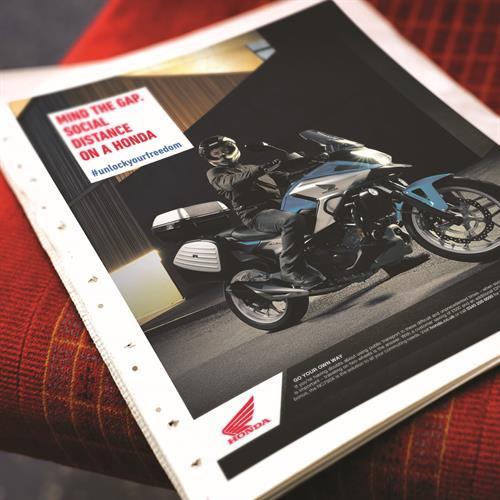 Honda (UK) - brand advertising