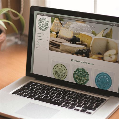 Sharpham Dairy - website