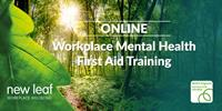 ONLINE - Mental Health First Aid Training 2 Day Course