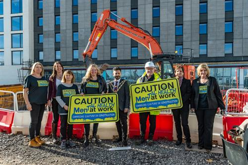 Mental Health in Construction something New Leaf are passionate about