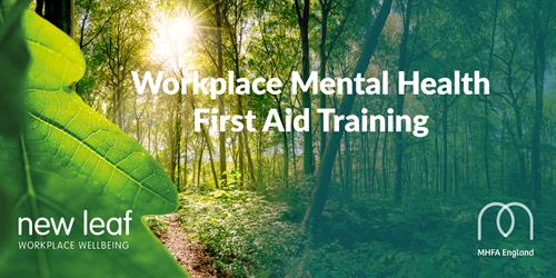 We deliver Mental Health First Aid Training