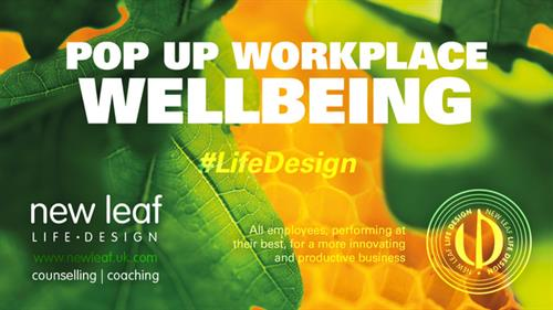 We deliver Workplace Pop Up Wellbeing in Somerset