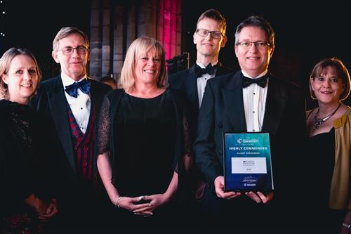 Highly Commended - Client Experience 2019