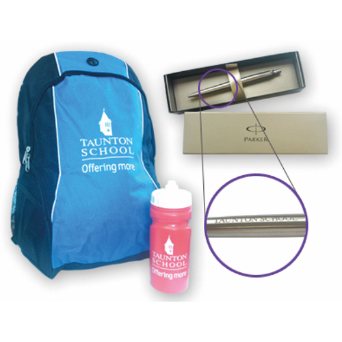 Branded items for Taunton School