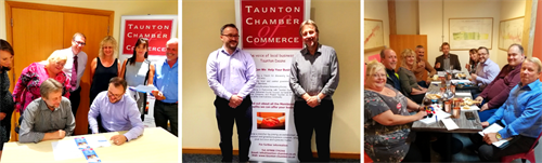 Taunton Chamber of Commerce - our volunteer Executive Committee, dedicated to supporting local business