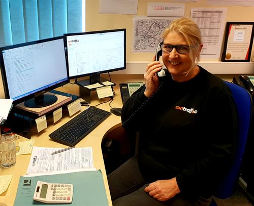 Geraldine is here to help with any Traffic Managment Hire enquires.