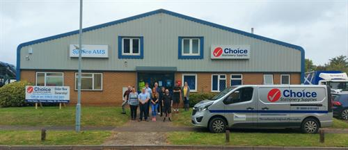 Our team at Choice Stationery Supplies.