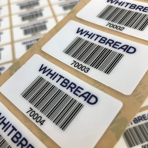 Whitbread Ultimate Asset Labels