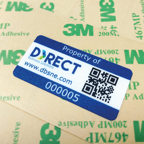 Direct Business Solutions UltraTuff Asset Label