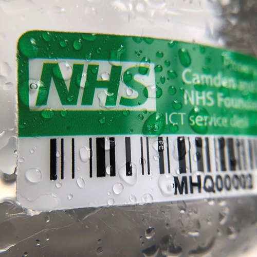 NHS Ultimate Asset Label