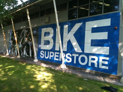 BICYCLE CHAIN - BUILDING WRAP