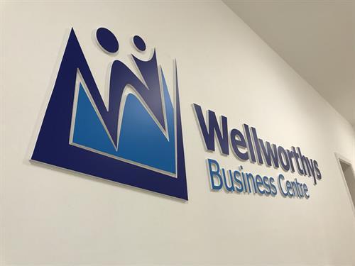WELLWORTHY BUSINESS CENTRE - INTERNAL BRANDING