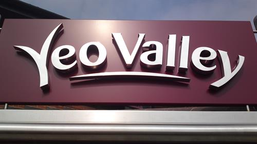 YEO VALLEY - STAINLESS STEEL LETTERS & LOGOS