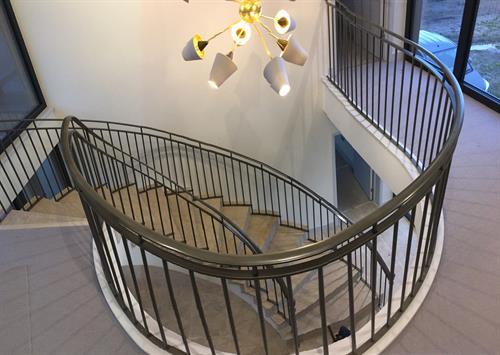 Spiral balustrade