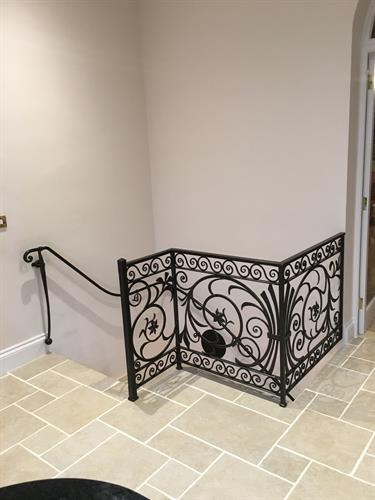 Decorative railing panel
