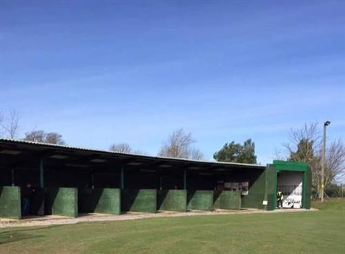 Driving range & coaching room