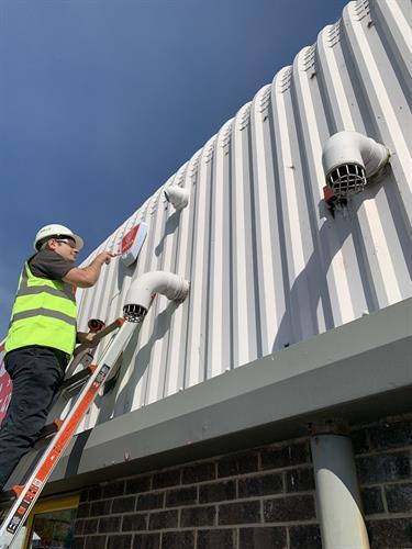Security system instalaltion