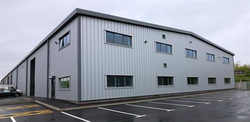 Warehouse, Marshall Way, Frome - New Build