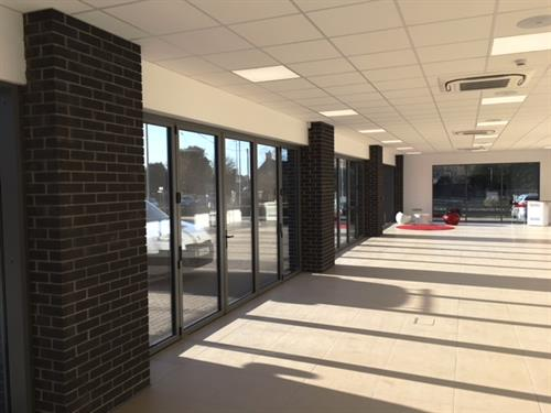 Former Shepton Mallet Motors (Showroom) - Refurbishment