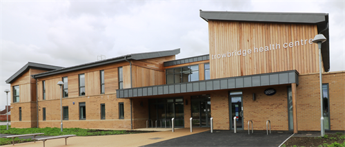 Trowbridge Health Centre - Extension & Refurbishment