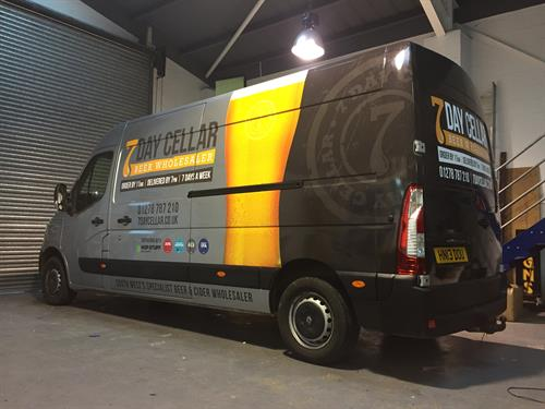 7 Day Cellar Vehicle Wrap