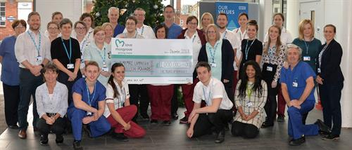 Completion of the £1 million for the new MRI Scanner