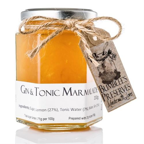 Bumblee's Preserves - Gin & Tonic Marmalade