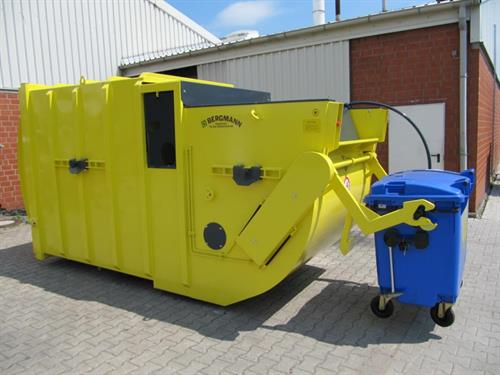 Static & Portable Waste Compactors - Various Sizes