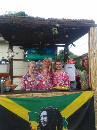 Caribbean beach bar
