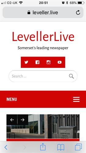 LevellerLive website