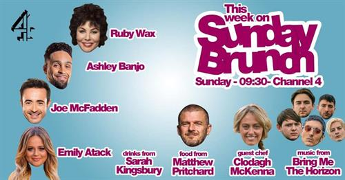 Mat Pritchard - Sunday Brunch Appearance