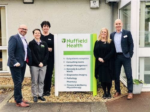Nuffield Health join the Somerset Chamber of Commerce
