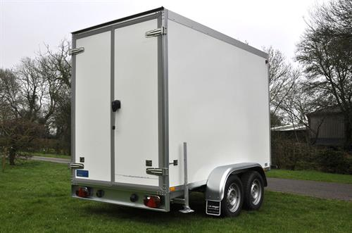 Double doors are ideal for access and are lockable, so the contents will be secure.