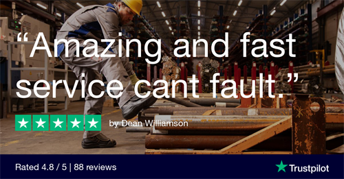 4.8 out of 5 stars on TrustPilot