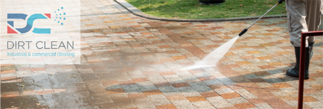 Dirt Clean : Pressure washing and surface cleaning.