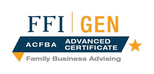 Advanced Certificate in Family Business Advising