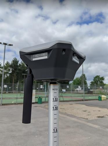Ground control points and GNSS surveying ensure absolute accuracy in mapping